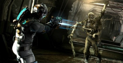 Promotional picture of Dead Space 3 featuring the main character, Isaac Clarke