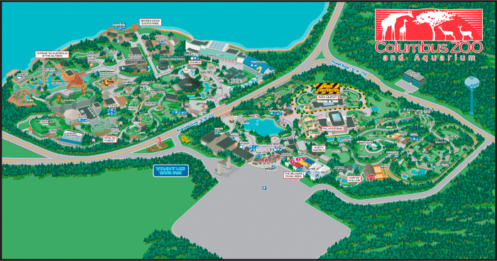 Printable Columbus Zoo Map Images