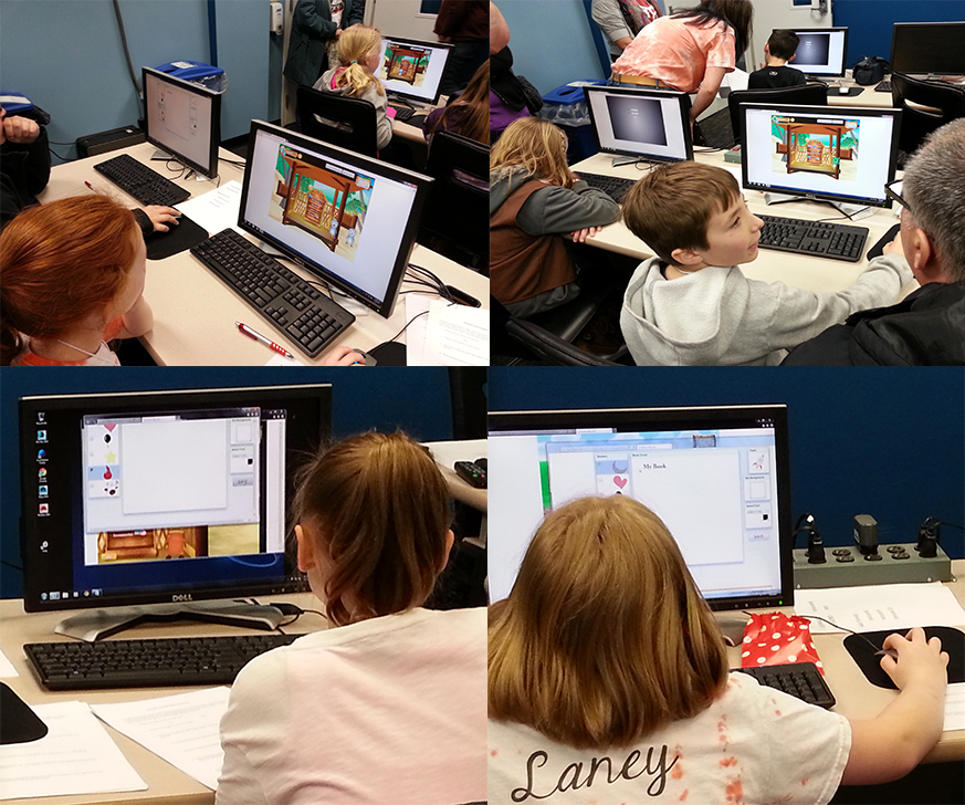 Playtesters ages 6-12 tried out our prototypes for Questyinz Social and gave us valuable feedback.