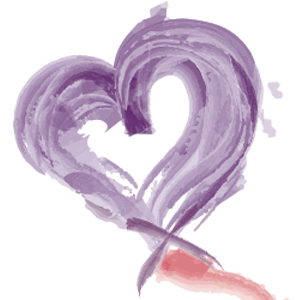 Lending Hearts app icon, option 1 (selected by the board)