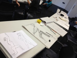 Some of the student's work